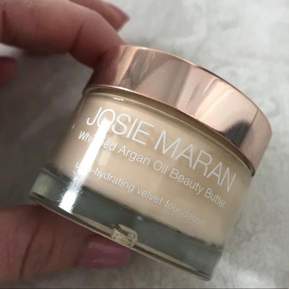 Josie Maran Makeup   Whipped Beauty Butter Foundation Fair   Poshmark